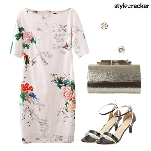Floral Dress Casual Summer Brunch - StyleCracker