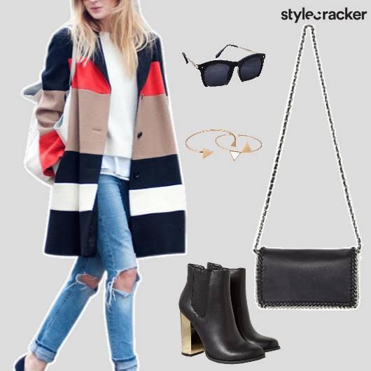 Denim Shirt Boots Jacket Casual  - StyleCracker
