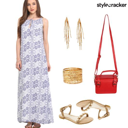 MaxiDress Summer Casual Flats  - StyleCracker