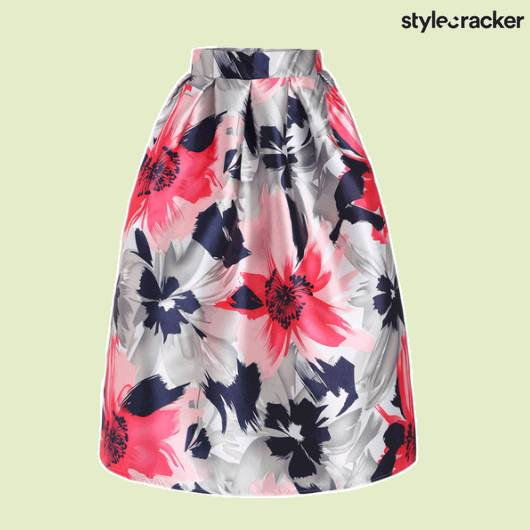 SCLOVES Floral Skirt - StyleCracker