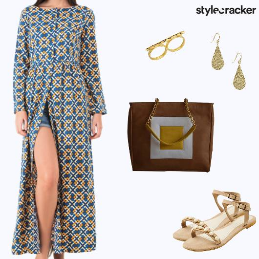 Casual Summer Printed Maxi  - StyleCracker