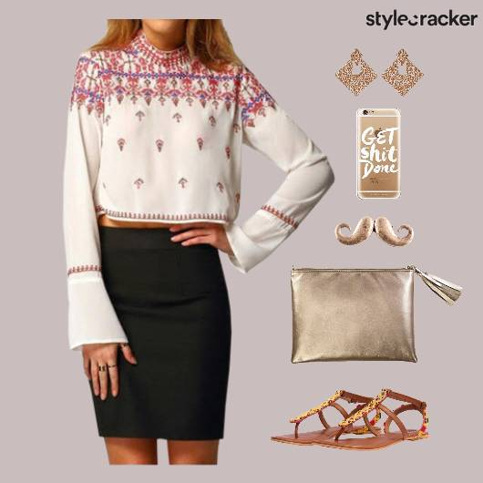 Lunch Clutch Flats Accessories Shopping - StyleCracker