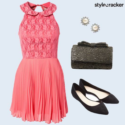 Dress Pleated Clutch Promnight - StyleCracker