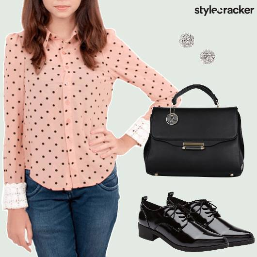 Workwear Shirt Printed Oxfords  - StyleCracker