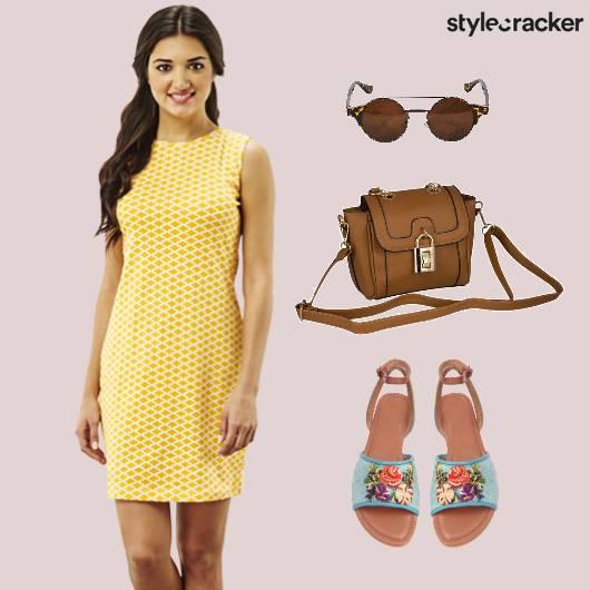 Summer Dress Printed Flats Sunglasses - StyleCracker