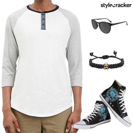 Henley Hightops Sunglasses Camouflagepants Travel - StyleCracker