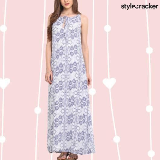SCLOVES Printed Dresses - StyleCracker