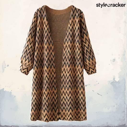 SCLoves Printed Jacket Cardigan - StyleCracker