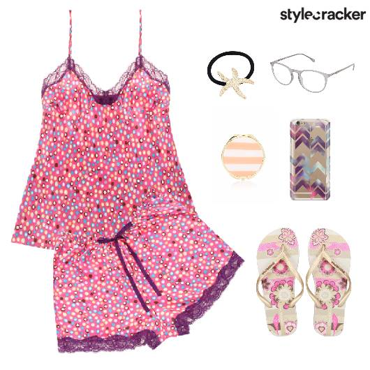 PyjamaParty NightWear Comfort Sleepover  - StyleCracker