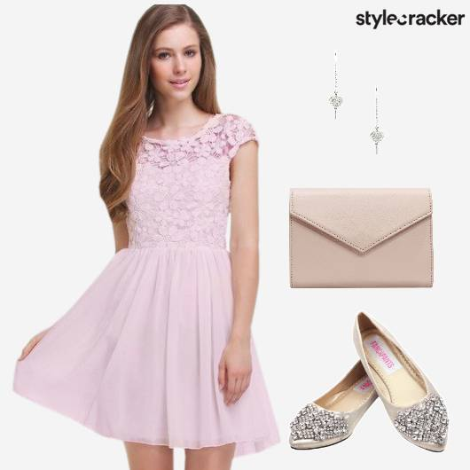 Pastel Dress Date Floral  - StyleCracker