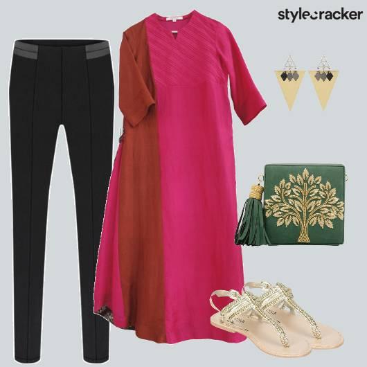 Indian Ethnic Casual Kurta Pants  - StyleCracker