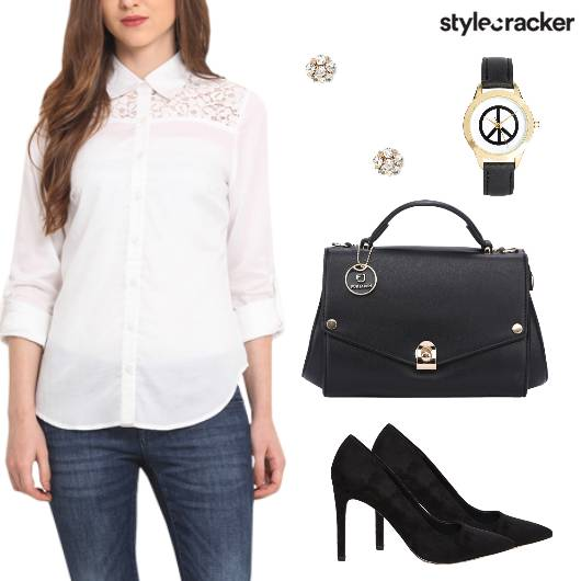 Workwear Mondayfeels Shirt Jeans Pumps - StyleCracker