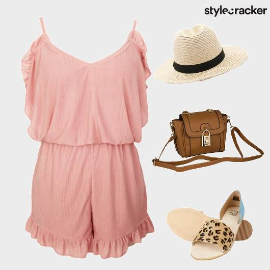 Romper Pastel SorbetColours Hat Summer  - StyleCracker