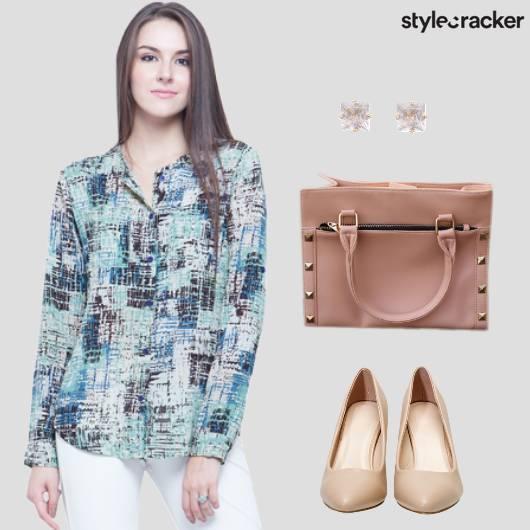 Printed Shirt Workwear  - StyleCracker