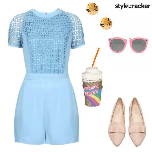 Jumpsuit Pastel Summer QuirkyBag - StyleCracker