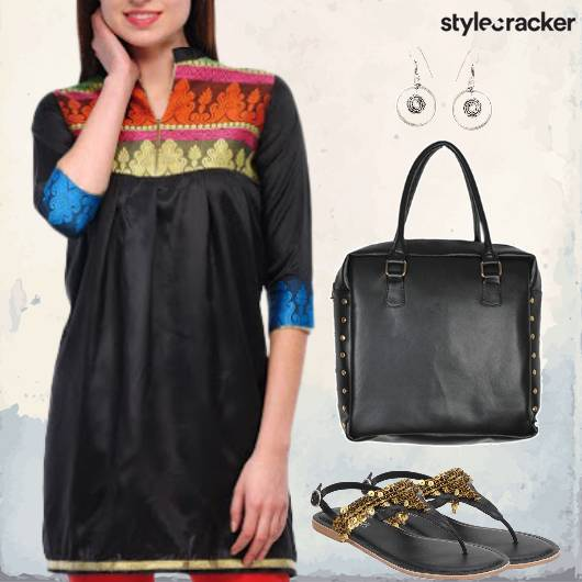Indian Churidar Kurta Workwear - StyleCracker