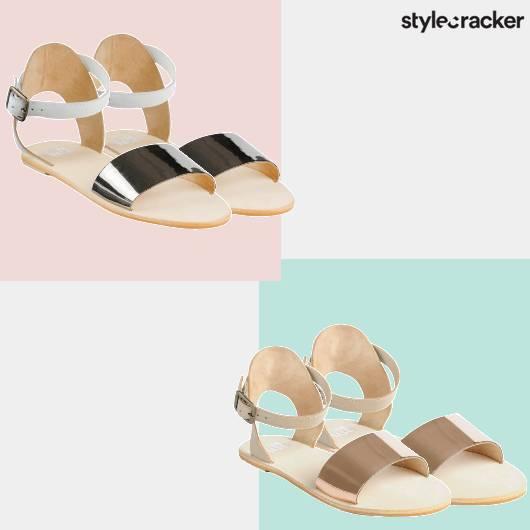 SCLOVES Anklestrap Flats - StyleCracker