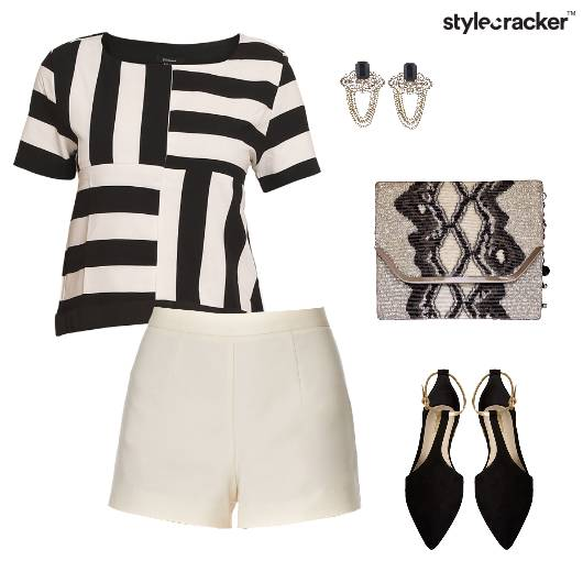 Monochrome Party NightOut Sequin - StyleCracker