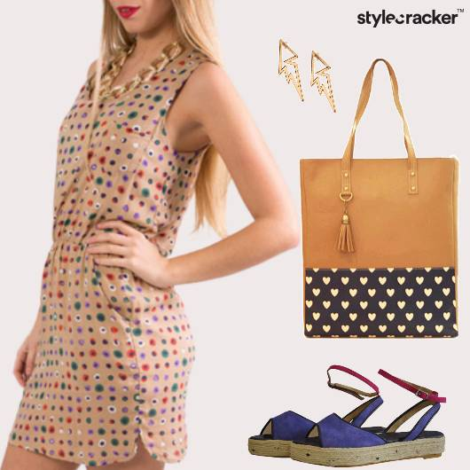 Casual Printed Dress Brunch - StyleCracker