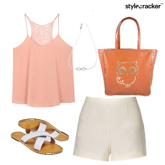 Summer Cami Top Shorts Casual - StyleCracker