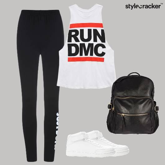 Sporty Sneakers Backpack Casual  - StyleCracker