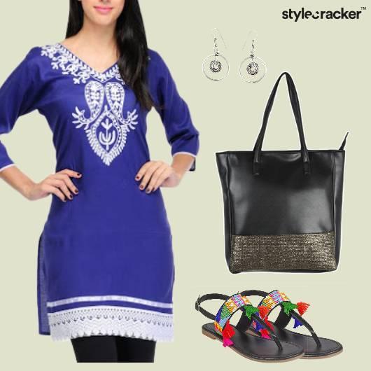 Indian Kurta Work Casaul - StyleCracker