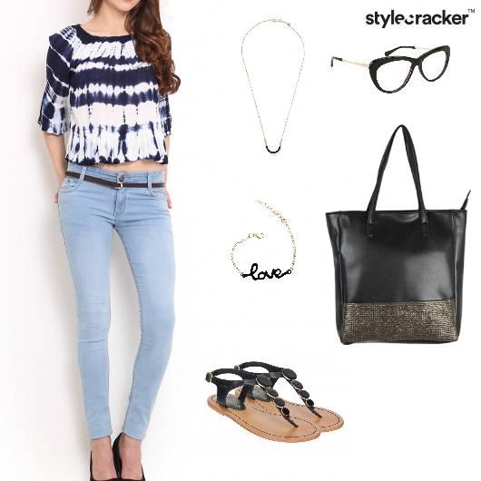 TieDye Casual Summer Basic - StyleCracker