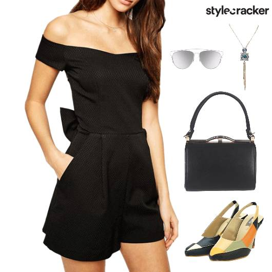 Dinner ColourBlock Footwear Accessories - StyleCracker