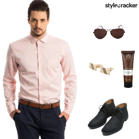 Work Meeting Formal Shirt CuffLinks - StyleCracker