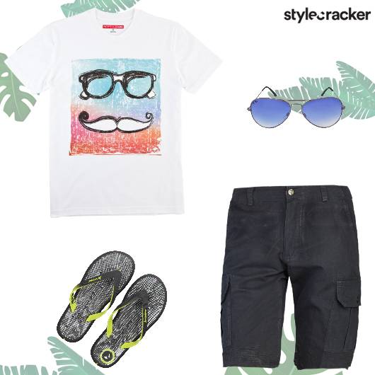Casual Summer Dayout Beach Vacation - StyleCracker