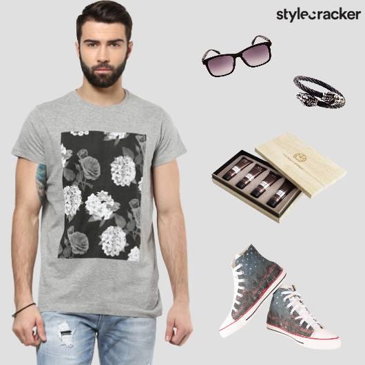 Casual Denims GraphicTee Sunglasses - StyleCracker
