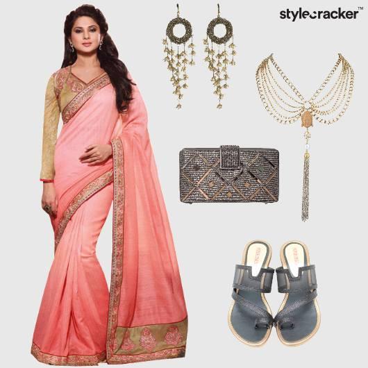 Saree Indian Ethnic Wedding Summer  - StyleCracker