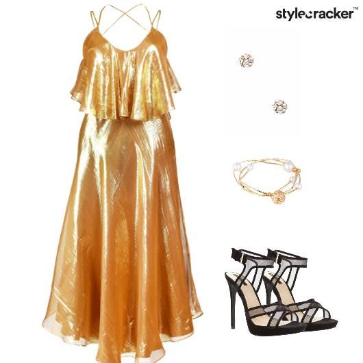 Maxi Dress RedCarpet Cocktail  - StyleCracker