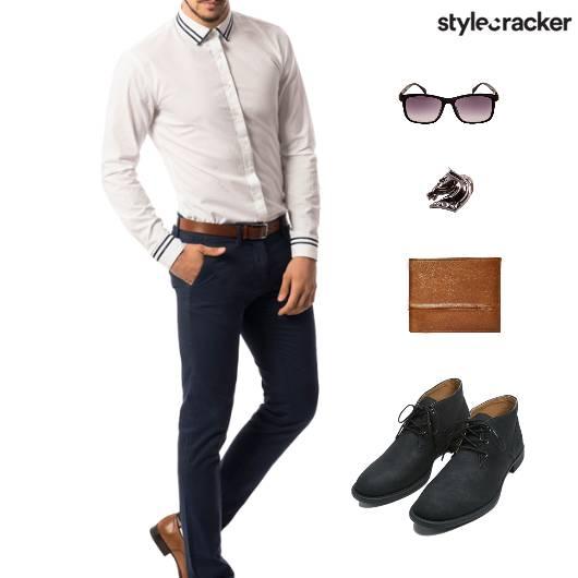 Work Shirt Wallet Meeting - StyleCracker