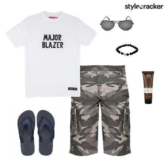 TShirt Casuals FlipFlops Comfort - StyleCracker