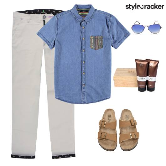 Denim Shirt Pants Casuals Movie - StyleCracker