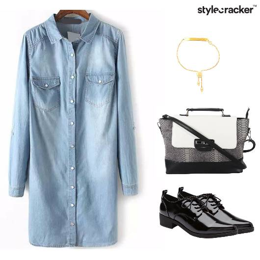 Denim Dress Shoes Sling Casual - StyleCracker