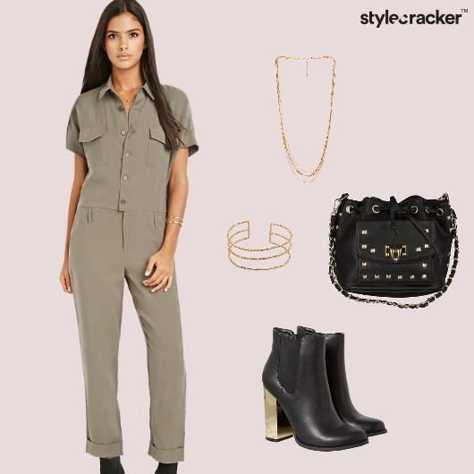JumpsuitBoots Casual Eveningwear  - StyleCracker