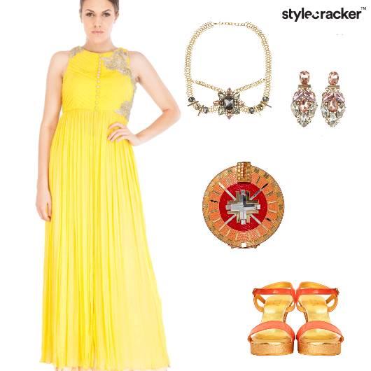 Anarkali Indian Ethnic Mehendi HeadGear - StyleCracker