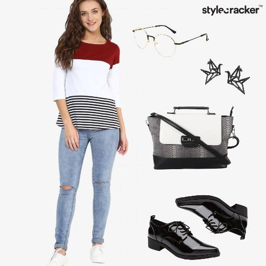 Denim Casual Outdoor Chill Laceups  - StyleCracker