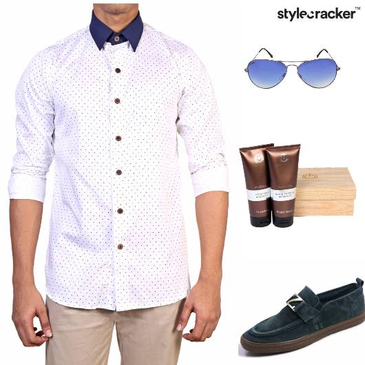 Shirt Chinos Loafers party - StyleCracker
