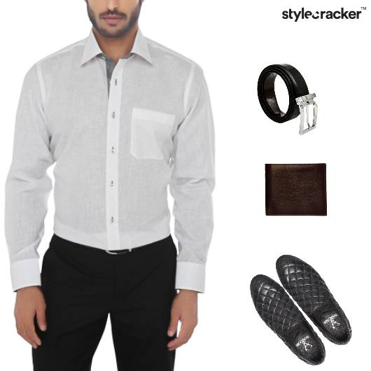 Casual Work Linen Shirt  - StyleCracker