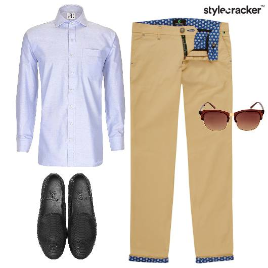 Chinos Semiformal Shirt Day Summer - StyleCracker