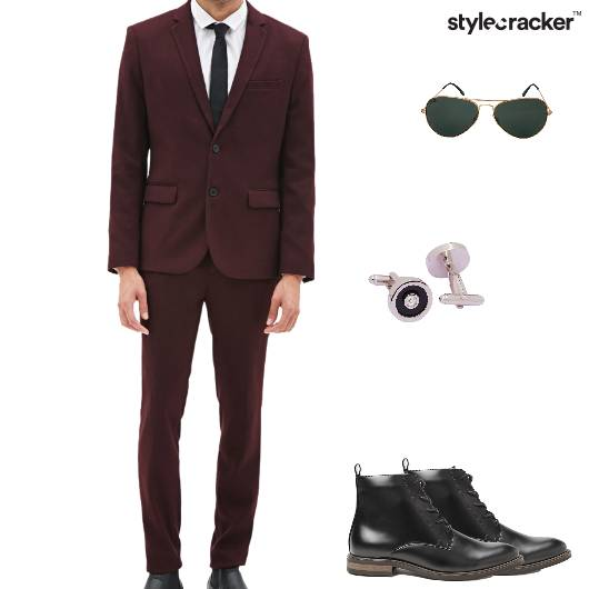 Blazer Trouser Sweater Plaidshirt Shoes Formal - StyleCracker