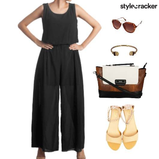 JumpSuit Flats Footwear SlingBag Accessories - StyleCracker