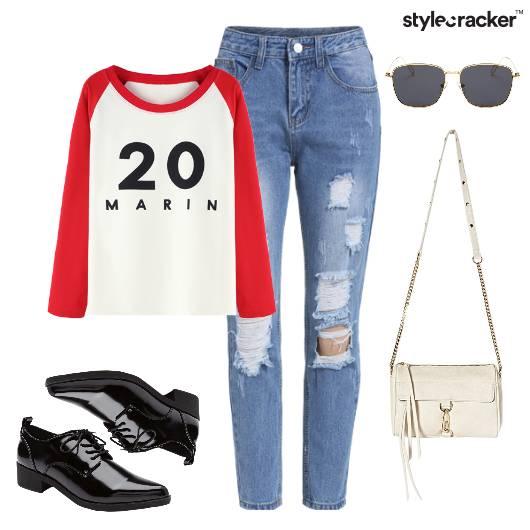 Casual RippedDenims DayOut Chill  - StyleCracker