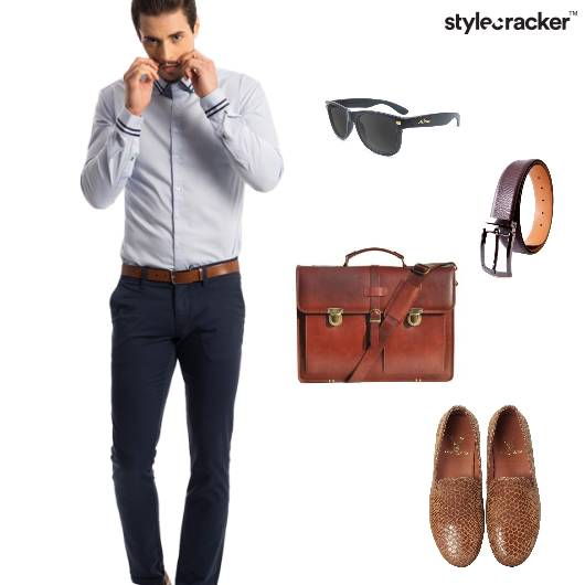 Work Formal Sunnies BriefCase - StyleCracker