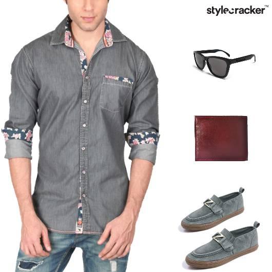 Casual ButtonDown Shirt Weekend Denims - StyleCracker
