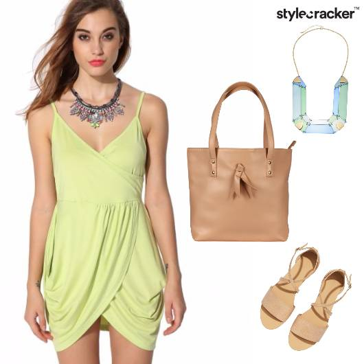 Summer Vacation StatementNecklace ToteBag - StyleCracker