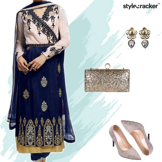 Wedding Festive Indian Suit - StyleCracker